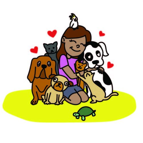 Animals Therapy for Stress